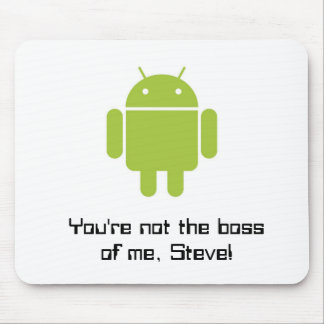 Mouse Pad for Android™' fans!