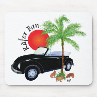 Mouse pad for beetle fan