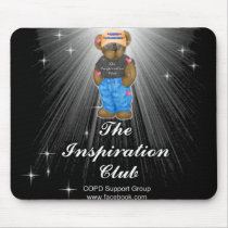 Mouse pad for inspiration club