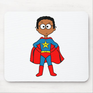 Mouse pad for kids Superhero