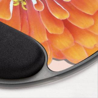 Mouse Pad - Gel - Orange Zinnia Gel Mouse Pad