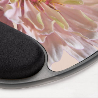 Mouse Pad - Gel - Palest Pink Zinnia Gel Mouse Pad
