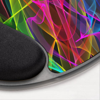 Mouse Pad - Gel - Ribbons of Light (Night)