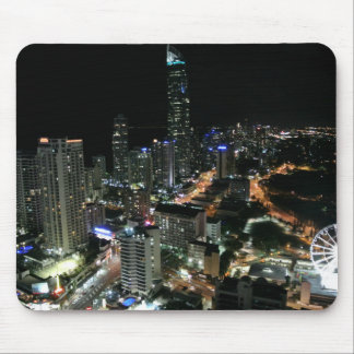 Mouse Pad - Gold Coast Night View