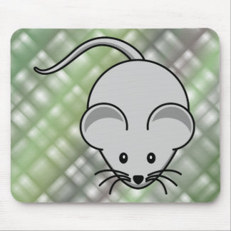 Mouse... pad. (green & black) mouse pad