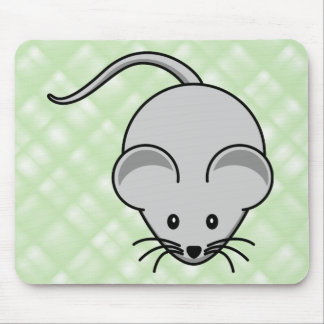 Mouse... pad. (green) mouse pad