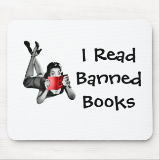Mouse Pad I Read Banned Books