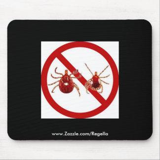 Mouse Pad Lyme Disease Awareness Black