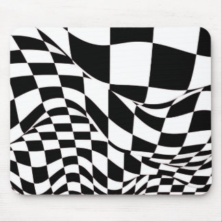 Mouse Pad - Modified Checkered Flag
