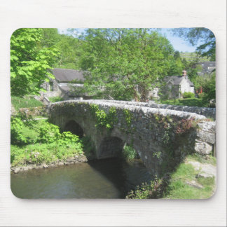 Mouse Pad / Mouse Mat: Stone Bridge in Countryside