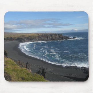 Mouse Pad / Mouse Mat With Icelandic Beach Picture