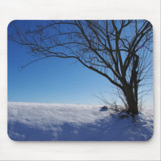 Mouse PAD Mousepad winter landscape