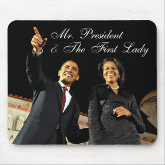 Mouse Pad Mr President First Lady