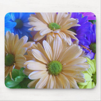 Mouse Pad - Multi-Colored Daisies