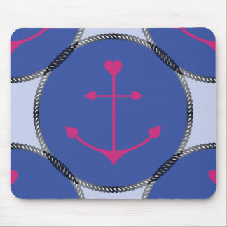 Mouse Pad_Nautical_Anchors_RB Mouse Pad