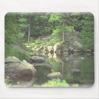 Mouse Pad~~New York mountain lake and rocks Mouse Pad