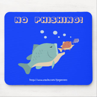 Mouse Pad, No Phishing Mouse Pad