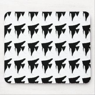 Mouse pad of black enzeruhuitsushiyu of fresh wate