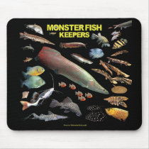 Mouse pad of large-sized tropical fish, No.03