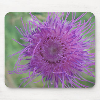 Mouse PAD of purple game flower