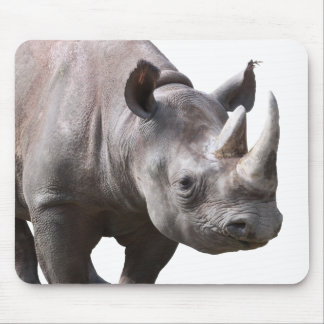 Mouse pad of rhinoceros, No.01