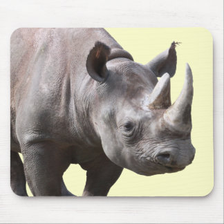 Mouse pad of rhinoceros, No.03