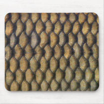 Mouse pad of scale of carp