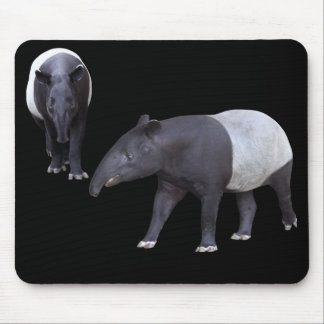 Mouse pad of the Malayan tapir, No.05