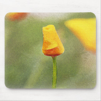 MOUSE PAD - Painted Poppy