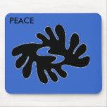 mouse pad - peace)