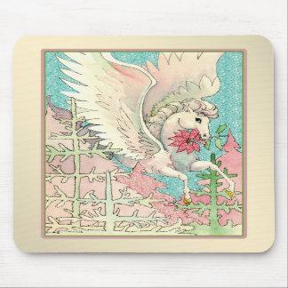 Mouse Pad - Pegasus - Feminine - Horse Flying