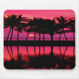 **MOUSE PAD - * Pink Palm Trees Computer Mousepad