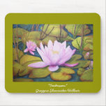 """Mouse PAD """" pond roses """""""