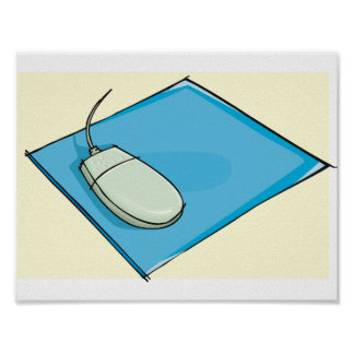 Mouse Pad Poster
