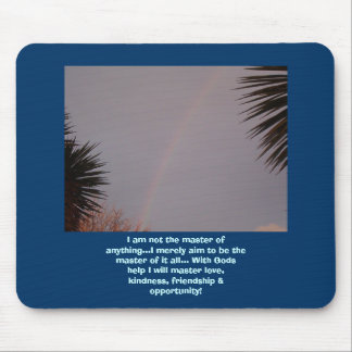 Mouse Pad, Rainbow Mouse Pad