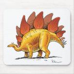 Mouse Pad Stegosaurus cartoon dinosaur