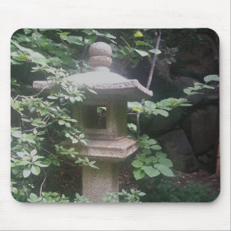 Mouse Pad Stone Pagoda Japanese Gardens