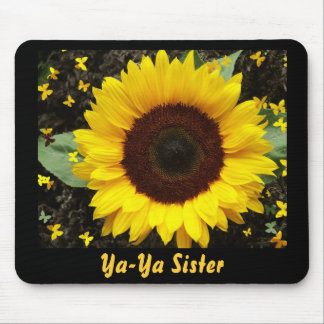 Mouse Pad, Sunflower, Ya-Ya Sister Mouse Pad