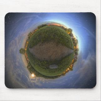 Mouse Pad - Surreal Twilight Globe
