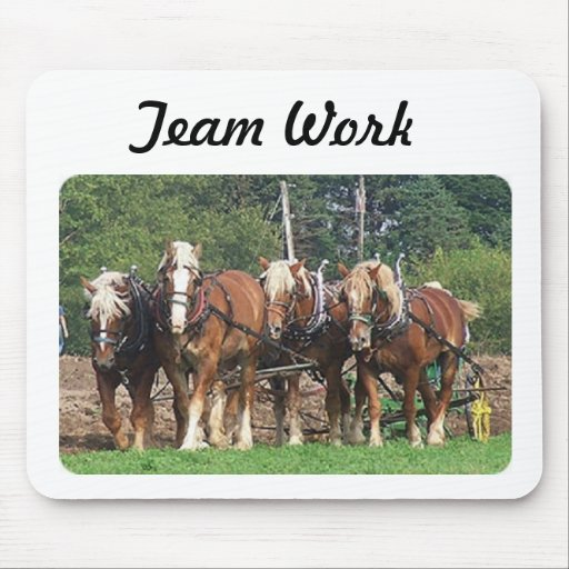 Mouse Pad Team Work