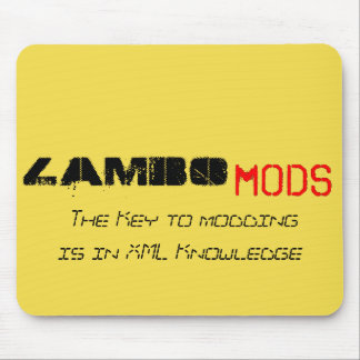 Mouse Pad - The Key to modding is in XML Knowledge