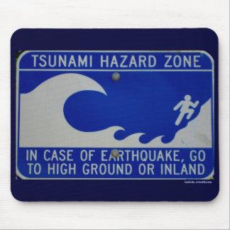 mouse pad - tsunami zone