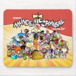 Mouse Pad Turma Mundo Canibal