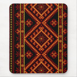 Mouse Pad Ukrainian Cross Stitch Embroidery