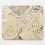 Mouse Pad Vintage Postcards