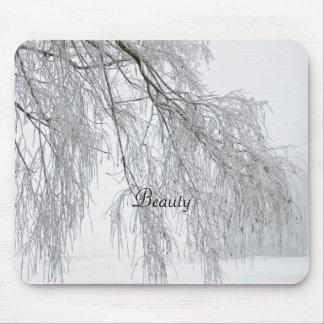 Mouse pad, willow, Beauty