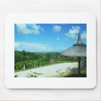Mouse Pad With Beach Theme