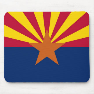 Mouse pad with Flag of Arizona State - USA