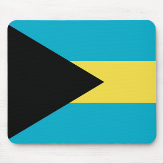 Mouse pad with Flag of Bahamas
