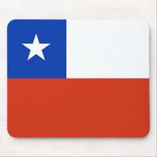 Mouse pad with Flag of Chile